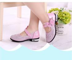 Giày búp bê đính hạt cho bé gái