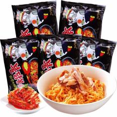 10 gói mì cay Samyang gà khô cay Hàn Quốc 140g