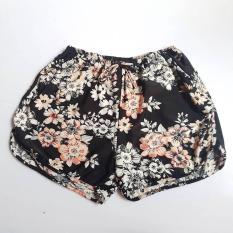 Quần short nữ hoa thun lạnh cho nữ 52 – 60kg