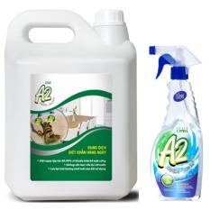 Dung Dịch Diệt Khuẩn Khử Mùi Green Cross A2 can 5L (Hương Tươi Mát)