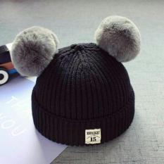 Mũ Len Quả Bông cho bé dưới 4 tuổi (chọn màu ngẫu nhiên)