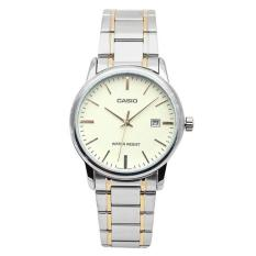 Đồng hồ nữ dây thép Casio LTP-V002SG-9AUDF (Bạc)