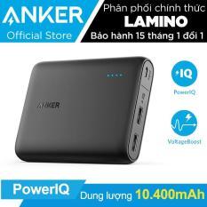 Pin sạc dự phòng ANKER PowerCore 10400mAh (Đen) – Hãng phân phối chính thức