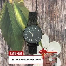[TẶNG ĐỒNG HỒ LẮC TAY XINH XẮN] Đồng hồ nữ thương hiệu GUOU size 30mm phù hợp với bàn tay nõn nà của phái nữ tạo nên vẻ dịu dành mà cực kỳ quý phái G43-CKS