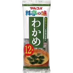 Súp Miso Wakame ăn liền Nhật Bản 216g (18g x 12gói)