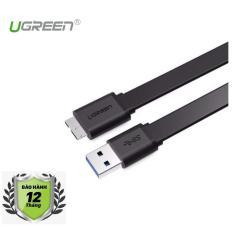 Cáp chuyển USB 3.0 sang Micro B 1m Ugreen 10809 (Đen)