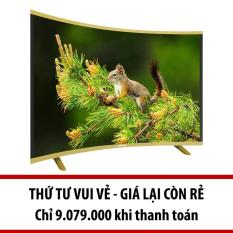 Smart TV Asanzo màn hình cong 50 inch Full HD – Model AS50CS6000 (Đen)
