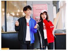 ÁO KHOÁC DÙ NỮ PHỐI DÂY 2 MÀU HOT 2018 CHẤT TỐT độc nhất vô nhị phối 2 màu tông độc đáo kiểu mới Hàn Quốc 2018 Font ( BẠN CHỈ THANH TOÁN KHI BẠN HÀI LÒNG)