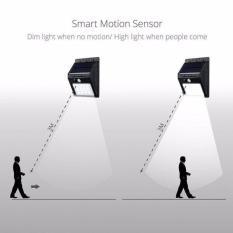 Đèn LED Năng Lượng Mặt Trời Cảm Ứng Hồng Ngoại Solar Sensor Wall light