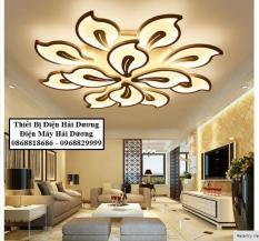 Đèn LED ốp trần 12 lá NT025 72W – 3 chế độ ánh sáng Có Điều Khiển
