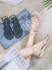 Giày Sandal Xỏ Ngón Chéo Dây Tròn
