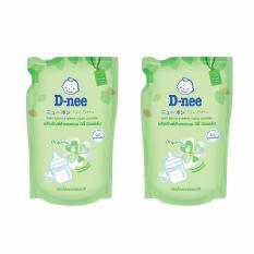 Nước rửa bình sữa Dnee Organic dạng túi 600ml