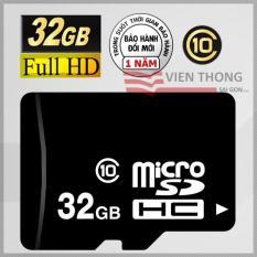 Thẻ nhớ 32GB Micro SDHC Class10 – Bảo hành 1 năm 1 đổi 1 mới