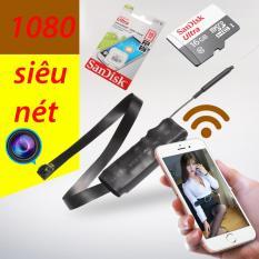 Camera bí mật siêu nhỏ, Bán camera siêu nét 1920 x 1080p ZS22, Camera Wifi Siêu Nét – Hàng cao cấp nhập khẩu, top 5 mẫu camera chất lượng bán chạy nhất 2018 + Tặng kèm thẻ 16G Ultra Sandick