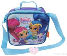 Túi đeo chéo hoặc túi đựng cơm Shimmer Shine đáng yêu màu xanh tím cho bé gái – 44SS3512178 (22x8x21cm)