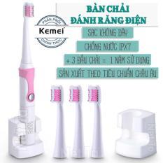 Bàn chải đánh răng điện KEMEI KM-907 – Hãng phân phối chính thức