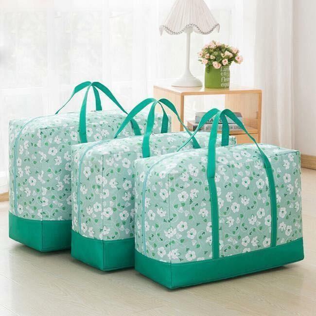 Cách mua Set 3 túi họa tiết hoa chống thấm đựng quần áo chăn màn…đa năng ( giao màu ngẫu nhiên )