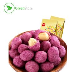 Snack đậu phộng khoai lang tím – Snack ăn vặt – túi 180g