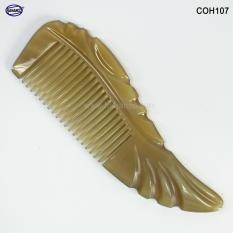 Lược sừng xuất Nhật – COH107 (Size: S) Cá Koi nhỏ bé – Horn Comb of HAHANCO – Lược chải tóc tốt cho sức khỏe