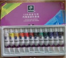 Màu acrylic memory loại 12 màu và 18 màu