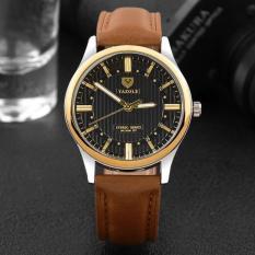 Đồng hồ nam dây da thời trang cao cấp Yazole Q02(Có bảo hành)