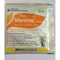 Combo 2 gói thuốc đặc trị rận sáp, sâu rầy trên cây Marshal 200SC