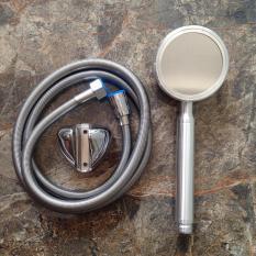 Bộ vòi tắm hoa sen tăng áp 400% Nhôm nguyên khối – Siêu tiết kiệm nước – Bảo hành 12 tháng (Gồm Vòi sen + Dây cấp + Gài)