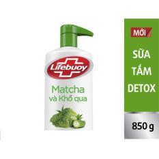 Sữa tắm detox Lifebuoy – Matcha & Khổ qua 850g