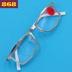 Mắt kính lão 868 inox trắng 2.5 độ