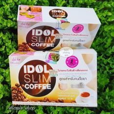 Cà Phê Hoà Tan Idol Slim Thái Lan (Hộp 10 gói)