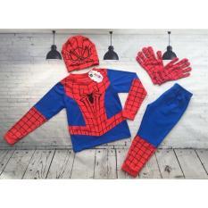Bộ Đồ Siêu Nhân Nhện Spider Man Dài 1212E