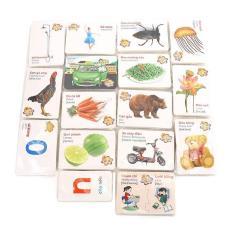 Bộ thẻ học song ngữ việt – anh 416 thẻ 16 chủ đề