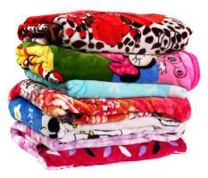 Chăn mền nhung mềm mại 1m x 1,1m cho trẻ ( nhiều màu )