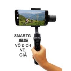 Gimbal SmartG G5 chống rung cho Smartphone, Gopro, Gitup, Sjcam, Eken – Đối thủ đáng gờm Zhiyun Smooth Q