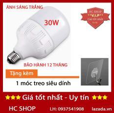 [KMT06] – Bóng đèn Led trụ 30W TOATAT Siêu sáng (Trắng)