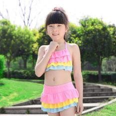 Bộ đồ bơi cho bé từ 5-7 tuổi (tối đa 23kg) phối màu Boi24