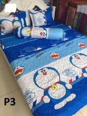bộ ga giường và 2 vỏ gối cotton poly (1m2x2m)