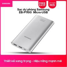 Giá Pin sạc dự phòng Samsung EB-P1100 10.000mAh Micro-USB (Bạc) Tại Samsung