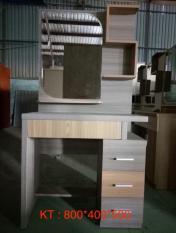 Bàn trang điểm kèm ghế Mina Furniture MN-BPMDF-8 (800*400*500)