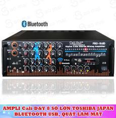 [ Miễn phí Vận Chuyển ] Ampli karaoke Amply nghe nhạc gia đình BLUETOOTH Cali.D&Y PRO-19.6D