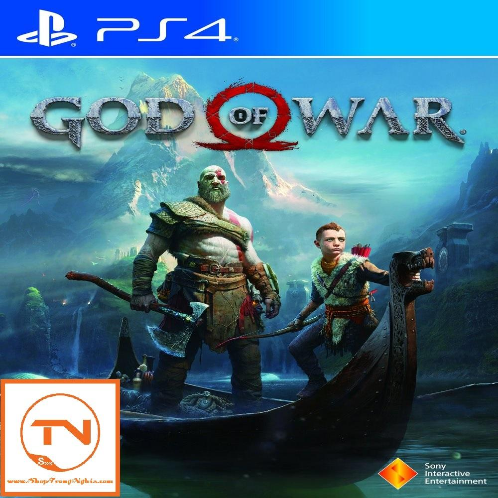 Đĩa Game PS4 - God of War 4
