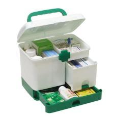 Hộp đựng thuốc y tế 3 tầng cho gia đình GDHOAC98
