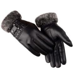 Bao tay da nam cảm ứng điện thoại đi xe máy mùa đông cực ấm mẫu NEW