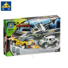 Bộ Lego xếp hình mô hình cảnh sát bão siêu tốc 6035