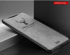 Nên mua Ốp lưng Oppo Find X lưng vải nhựa mềm cao cấp ở Shop 467