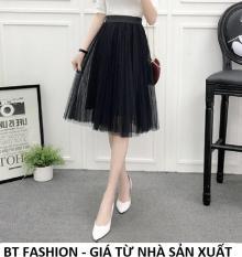 Chân Váy Xòe Dài Duyên Dáng Thời Trang Hàn Quốc – BT Fashion (VA02 – Vải Lưới)