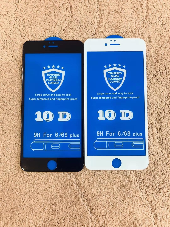 Mua Kính Cường Lực 10D Full Màn Dành Cho Điện Thoại Iphone – 6/6S Plus/7/7plus/8/8plus/X – Các Màu Tại Tuan Duong Mobile