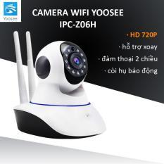 Camera YOOSEE WIFI IP XOAY 360 ĐỘ 2 RÂU 720P – NEW 2018
