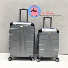 Vali nhựa du lịch 20inch màu bạc (bảo hành 12 tháng )