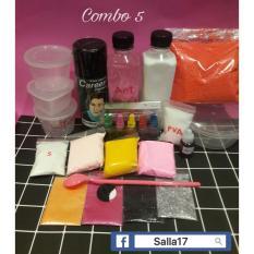 Combo Bộ Kit Làm Slime 5 (Miễn phí ship toàn quốc)
